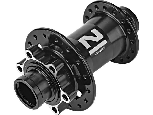 Novatec Downhill Front Wheel Hub 20mm MTB Disc Thru Axle, black